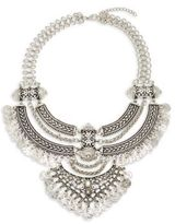 Saks Fifth Avenue Silver-Plated Statement Necklace