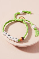 Venessa Arizaga Beaded Phrases Bracelet