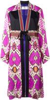 Etro abstract print kimono coat - women - Silk/Viscose/glass - 44