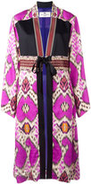 Etro abstract print kimono coat - women - Viscose/Silk/glass - 40