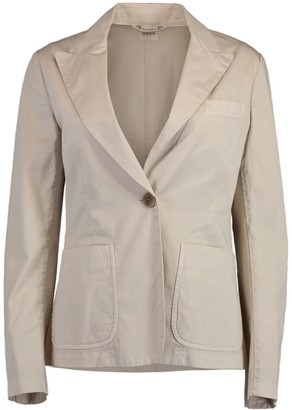 Aspesi Notched Collar Blazer