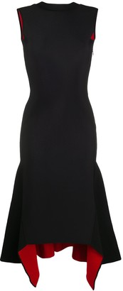 Alexander McQueen Asymmetric Mid-Length Dress