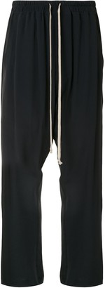 Rick Owens Drawstring Tapered Trousers