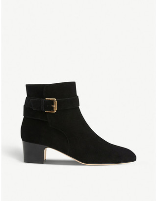 LK Bennett Jerrie suede ankle boots