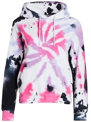 Worthy Threads Cotton Candy Tie-Dye Hoodie