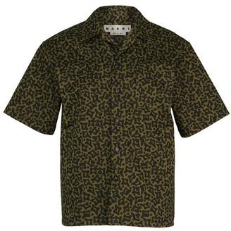 Marni Camouflage short-sleeved shirt