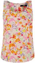 Oasis Painterly Floral Vest
