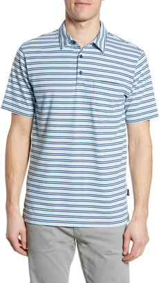 Patagonia Squeaky Clean Regular Fit Stripe Polo