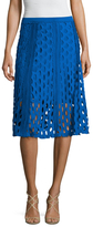 Tracy Reese Eyelet Flared Skirt