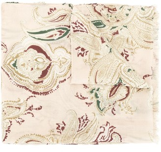 Colombo Paisley Cashmere Scarf