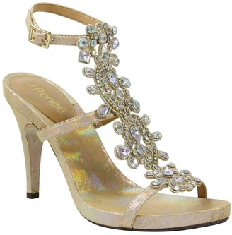J. Renee Evadine Embellished Ankle Strap Sandal - Multiple Widths Available