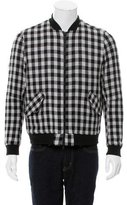 Timo Weiland Wool Gingham Bomber Jacket w/ Tags