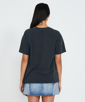 Ksubi Stranger T-Shirt Back To Black