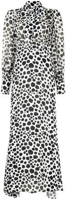 MSGM Leopard-Print Maxi Dress