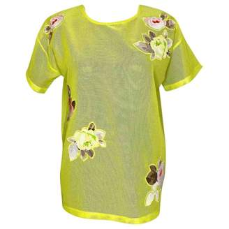 Carven \N Yellow Top for Women