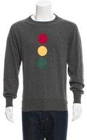 Michael Bastian Stop Light Intarsia Sweater w/ Tags