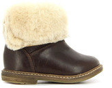 Pom D'Api Fur leather Retro Chabraque Boots