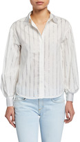 Pinko Amilcare Sequined Button-Down Top