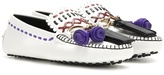 Tod's Gipsy Leather Loafers