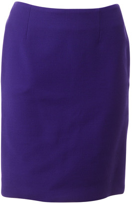 Christian Dior Purple Wool Skirts