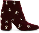 Senso Jamie I boots - women - Velvet/Synthetic Resin/Kid Leather - 36