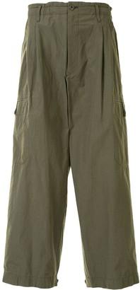 Yohji Yamamoto Loose Fit Cargo Pants