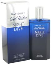 Davidoff Cool Water Night Dive Eau De Toilette Spray for Men (4.2 oz/124 ml)