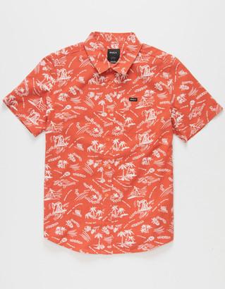 RVCA Tropical Disaster Boys Shirt