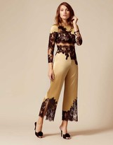 Agent Provocateur Nayeli Trousers Gold And Black