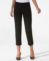 Lindsay Ponte Cropped Narrow Pants
