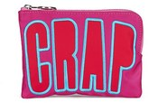 House of Holland Women's Nylon Crap Clutch Pink
