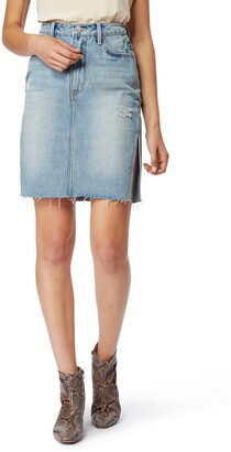 Habitual Willa High Waist Denim Skirt