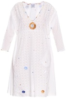 Thierry Colson Pakeza Garden-embroidered cotton dress