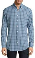 Peter Millar Plaid Casual Button-Down Shirt