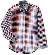 HUGO BOSS BOSS Black Rod Check Oxford Long-Sleeve Woven Shirt