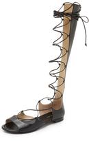 Michael Kors Birdie Lace Up Gladiator Sandals