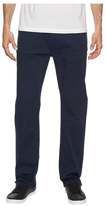 Buffalo David Bitton Six-X Straight Fit Jeans Torpedo Fabric in Deep Navy (Deep Navy) Men's Jeans
