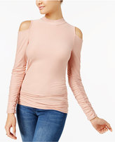 Planet Gold Juniors' Cold-Shoulder Top