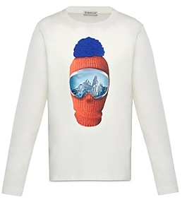 Moncler Unisex Ski Mask Sweatshirt - Little Kid