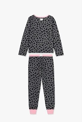 Country Road Leopard Pyjama Set