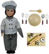 The Queen's Treasures® 18 Inch Doll Clothes & Accessories 16 Piece Chef Set With Kitchen & Baking Tools
