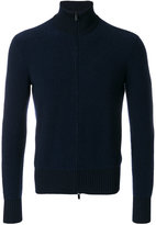 Giorgio Armani zipped cardigan - men - Polyamide/Cashmere/Virgin Wool - 48