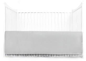 Tadpoles Microfiber Crib Skirt Dust Ruffle w/Tassel