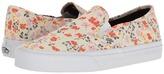 Vans Slip-On SF 70s Floral) Women's Skate Shoes