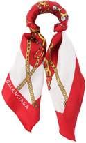 Balenciaga Bracelet Foulard En Twill