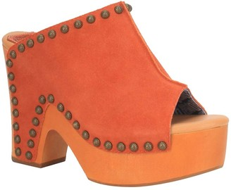 Dingo Women's Suede Platform Sandals - Peace N'Love