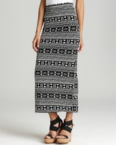 The New Wave: Element Skirt - Cabo Printed Maxi Skirt