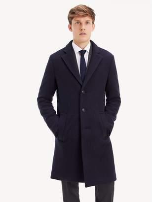 Tommy Hilfiger Virgin Wool Overcoat