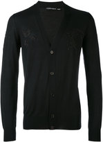 Alexander McQueen V-neck cardigan - men - Silk/Wool - S
