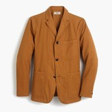 J.Crew Wallace & Barnes unstructured workwear suit jacket in cotton